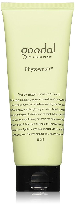 抑制息を切らして称賛Goodal Phyto Yerba mate Cleansing Foam(150ml)
