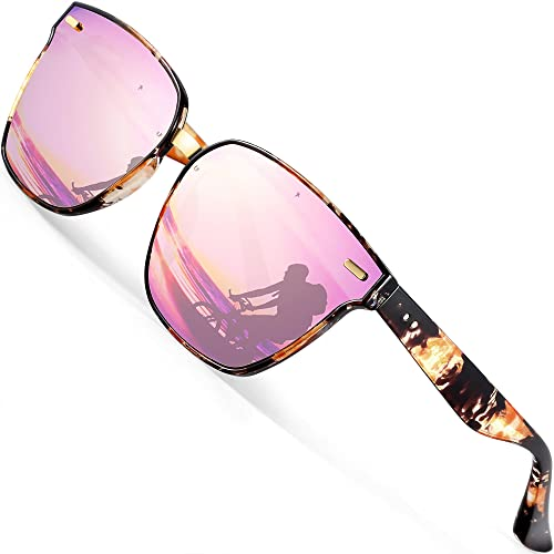 ecc675b52f0 ATTCL Unisex Sunglasses 100% Polarized UV Protection For Women and Man