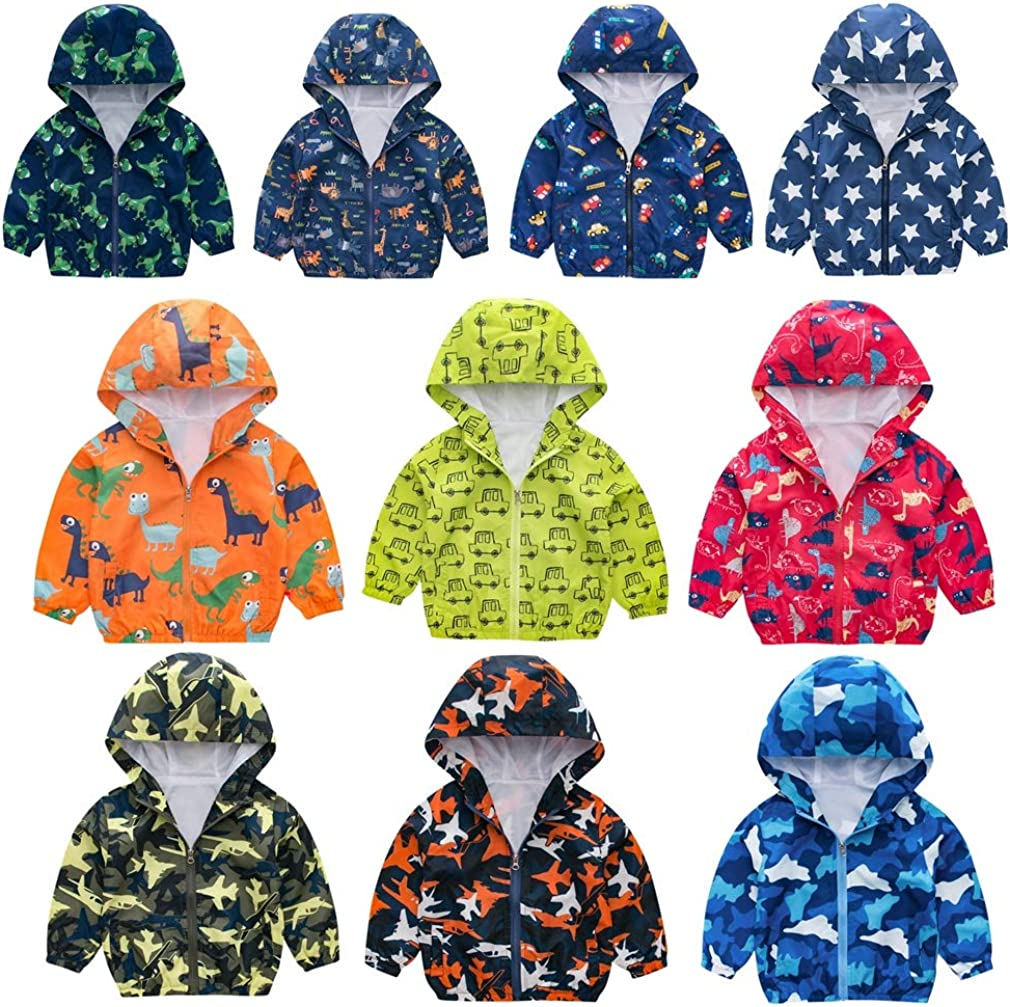 Austin Mall Kehen- Kid price Spring Fall Jackets Baby Mesh Lined Boy Cartoon Girl