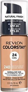 Revlon ColorStay Liquid Foundation For Normal/dry Skin, SPF 20, Medium Beige, 1 Fl Oz