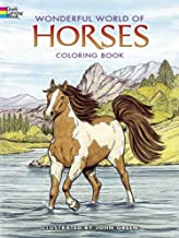 Dover Publications-Wonderful World Of Horses Coloring Book (Dover Nature Coloring Book)