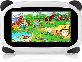 HANYEAL Tablet per bambini, con WiFi Bluetooth Tablet da 7 pollici 1024x600 per bambini Android 9.0 quad-core 2 GB di RAM ...