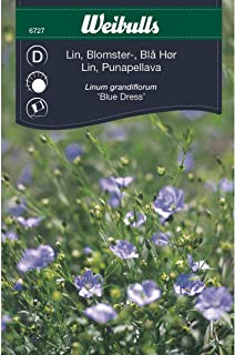 Weibulls Lin blå blomster