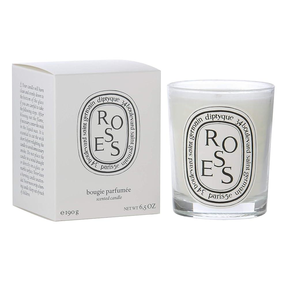 枯れる出版サイズ[Diptyque] Diptyqueバラの香りのキャンドル190グラム - Diptyque Roses Scented Candle 190g [並行輸入品]