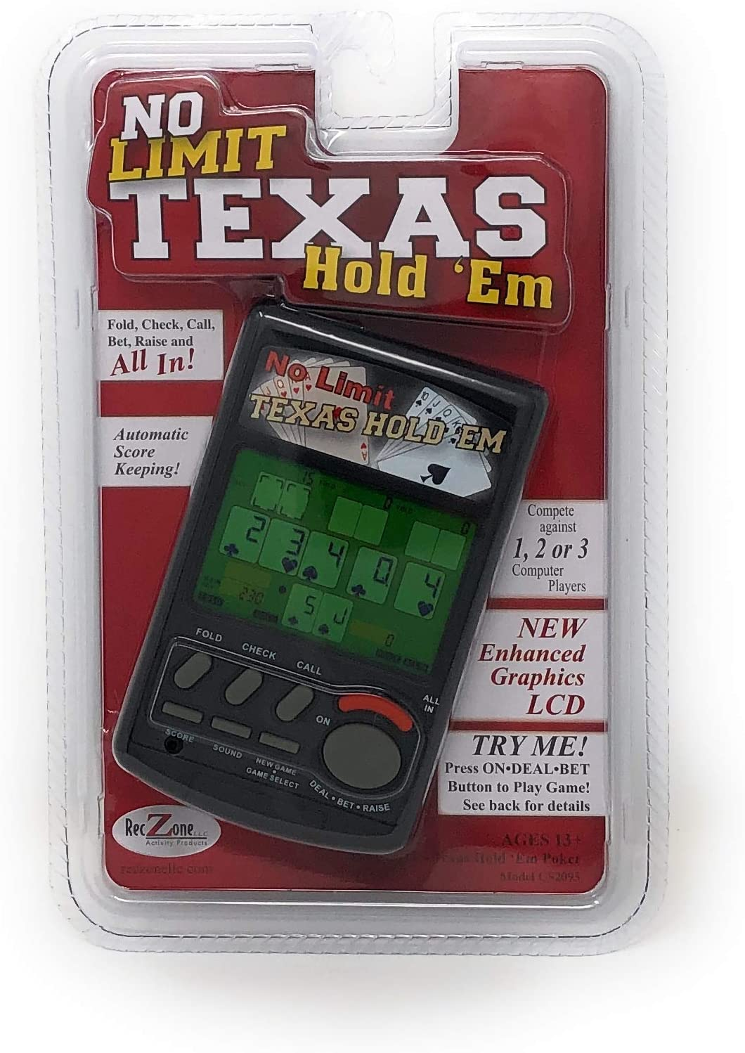 No Limit Texas Hold'em Handheld service Video Game Cheap mail order shopping Poker