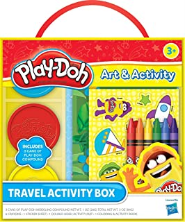 Play Doh Travel Activity Box - 3 Years & Above