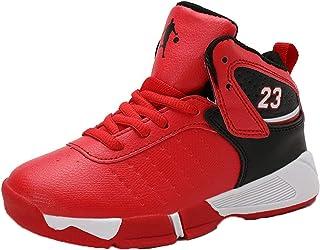 2020 Zapatos de Baloncesto para niños Zapatos Deportivos para niños Zapatos para Correr Antideslizantes para niños Grandes...