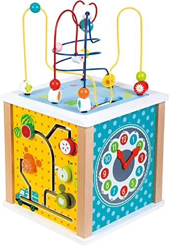 LELIN Toys 31612 Cube von Aktivit n Bauernhof