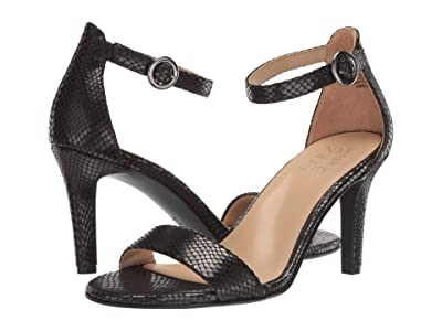 Naturalizer Kinsley (Black Snake Fabric) High Heels