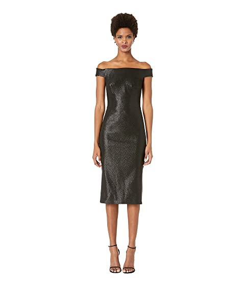 Zac Posen Lurex Party Jacquard Dress