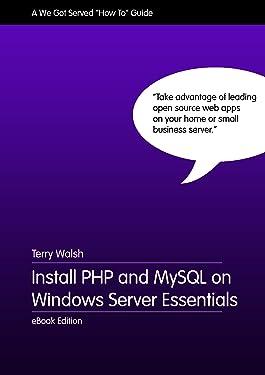 Install PHP and MySQL on Windows Server Essentials