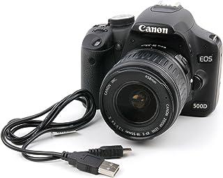 DURAGADGET - Cable de sincronización de datos digital mini USB compatible con Canon EOS 1D X 5DS R 5DS 5DS 5D 550D 6D 600D 60D 7D 760D 750D 700D 700D 80D y 1300D