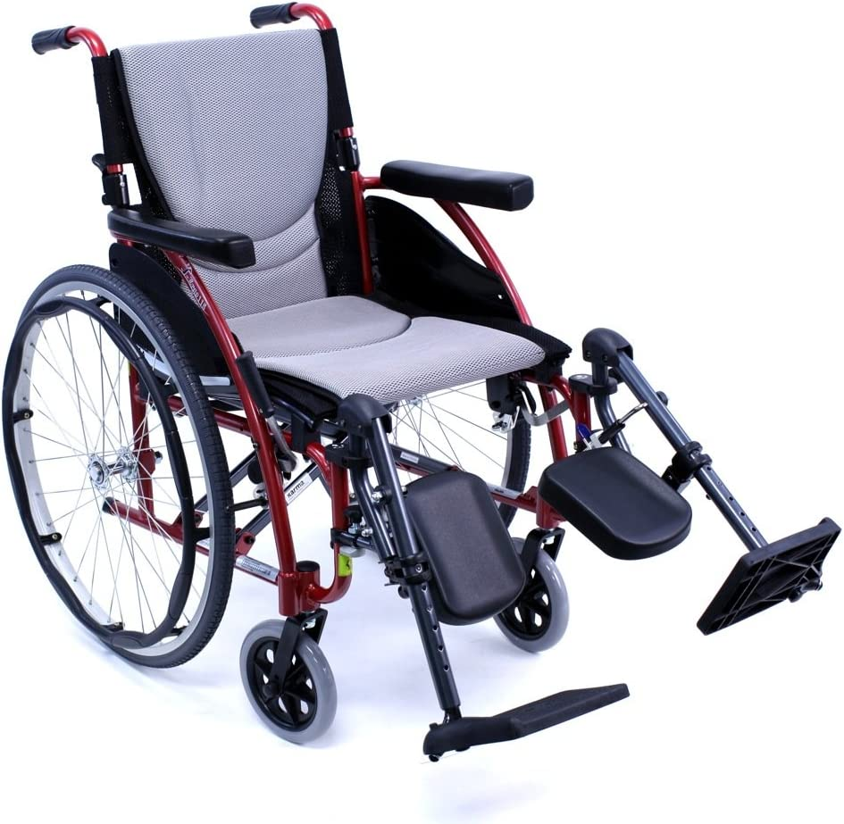 Karman S-ERGO115F20R-E Wheelchair with Rose Legrest R Mail order Elevating Max 64% OFF