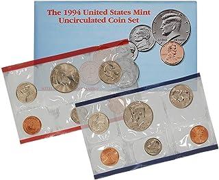 1994 P & D US Mint 10-Coin Mint Set Uncirculated