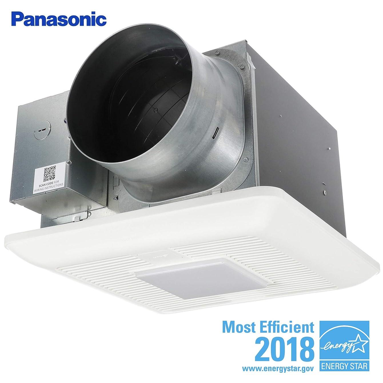 Panasonic FV-1115VKL2 WhisperGreen Multi-Flow Bathroom Fan, White