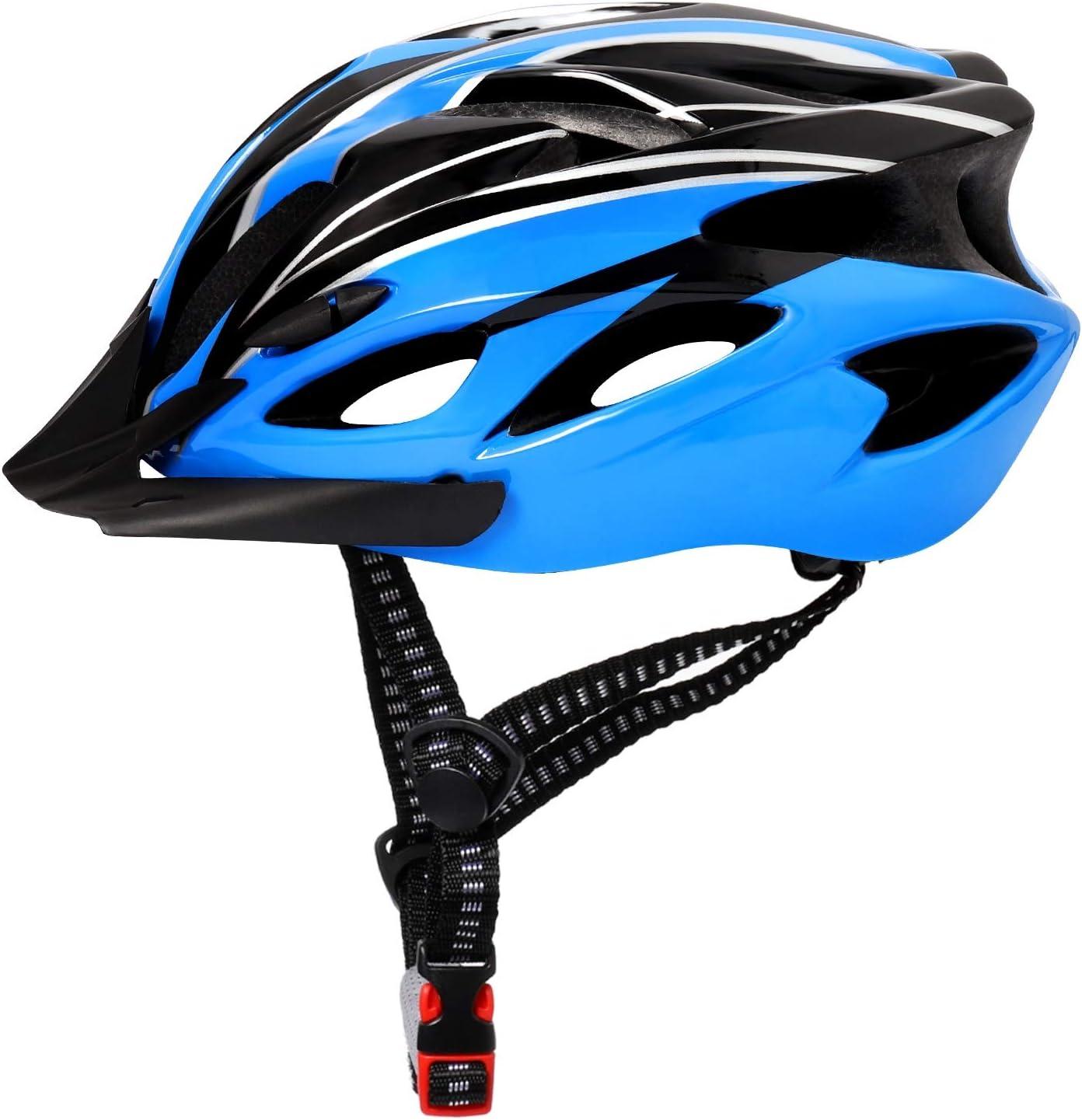 Adult Super sale period limited Bike Helmet Adjustable 57-62cm with Vents Visor an 18 Sun shopping