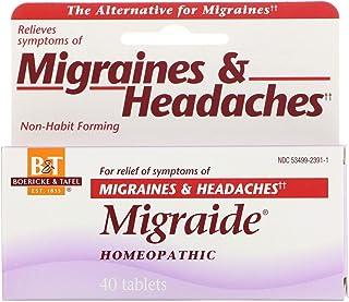Boericke & Tafel Migraide - 40 Tablets
