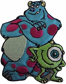 b67b391f3c1 Disney s Monsters Inc Mike and Sully Best Friends Iron On Patch