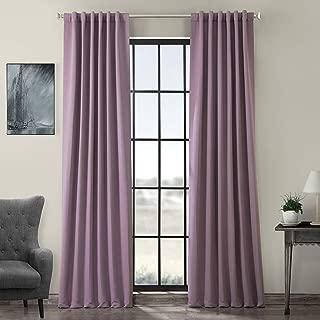 HPD HALF PRICE DRAPES BOCH-201609-108 Blackout Room Darkening Curtain, 50 X 108, Purple Rain