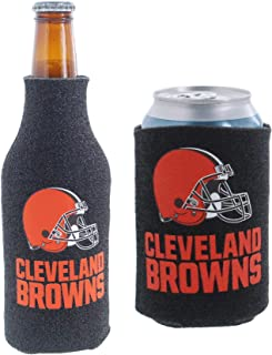 NFL Football Can & Bottle Holder Insulator Beverage Cooler