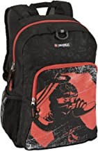 LEGO Kids Ninjago Red Ninja Heritage Classic Backpack, Black, One Size