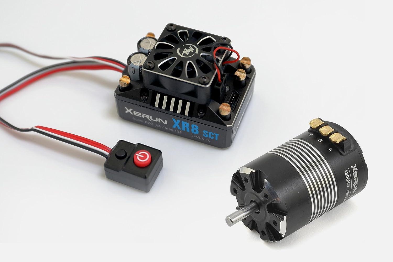 ギフ_包装 Hobbywing Combo XR8 SCT 3652SD 3800kv - D5.0 B 本物◆