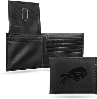 NFL Buffalo Bills Laser Engraved Billfold Wallet