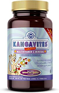 Solgar - Kangavites Multivitamin & Mineral Chewable Tablets – Bouncin' Berry Flavor, 120 Tablets