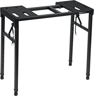 Gator Frameworks Keyboard and Audio Utility Table with Multi