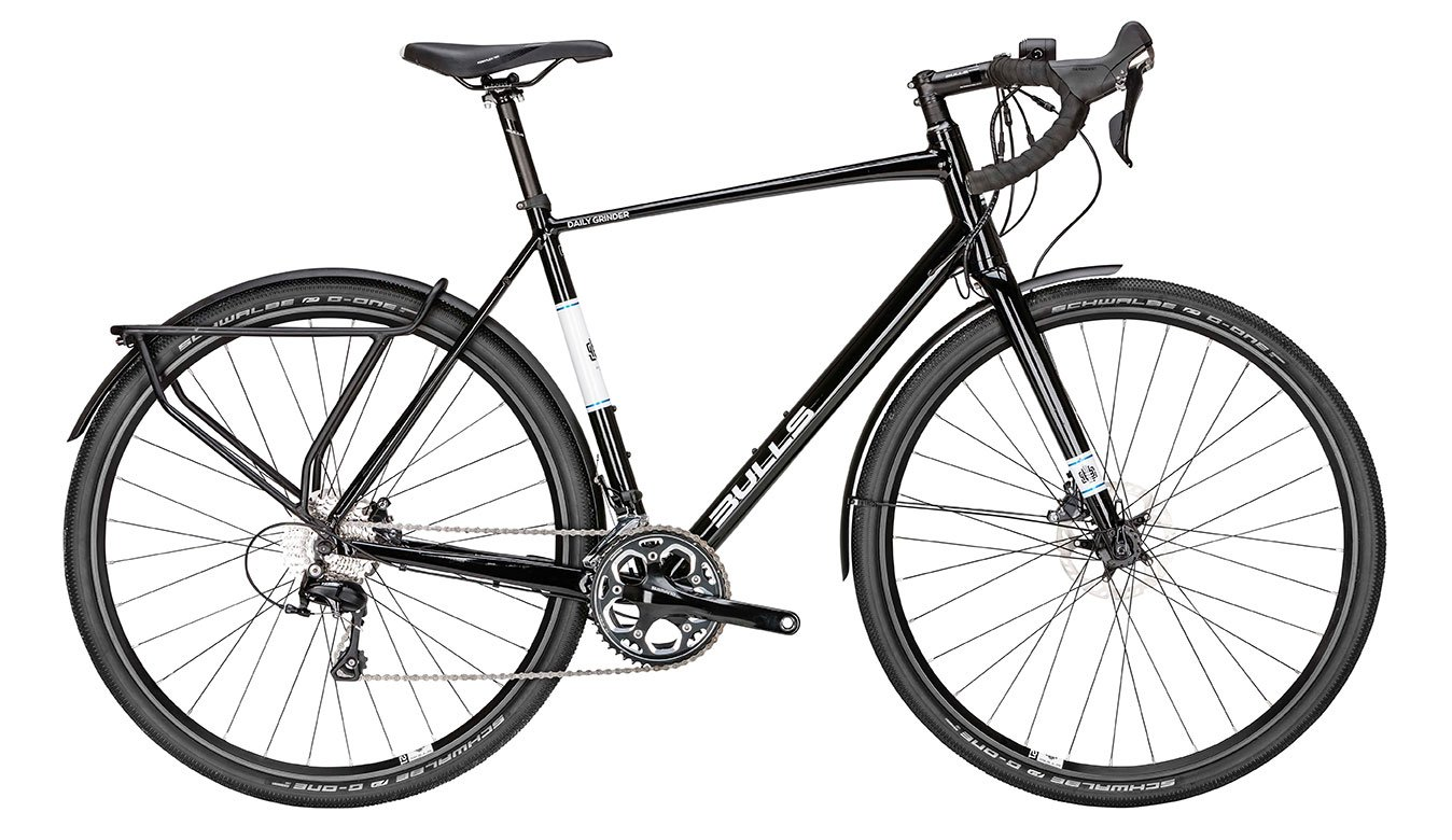 Bulls Daily Grinder - Bicicleta de 2 partes, color negro, color ...