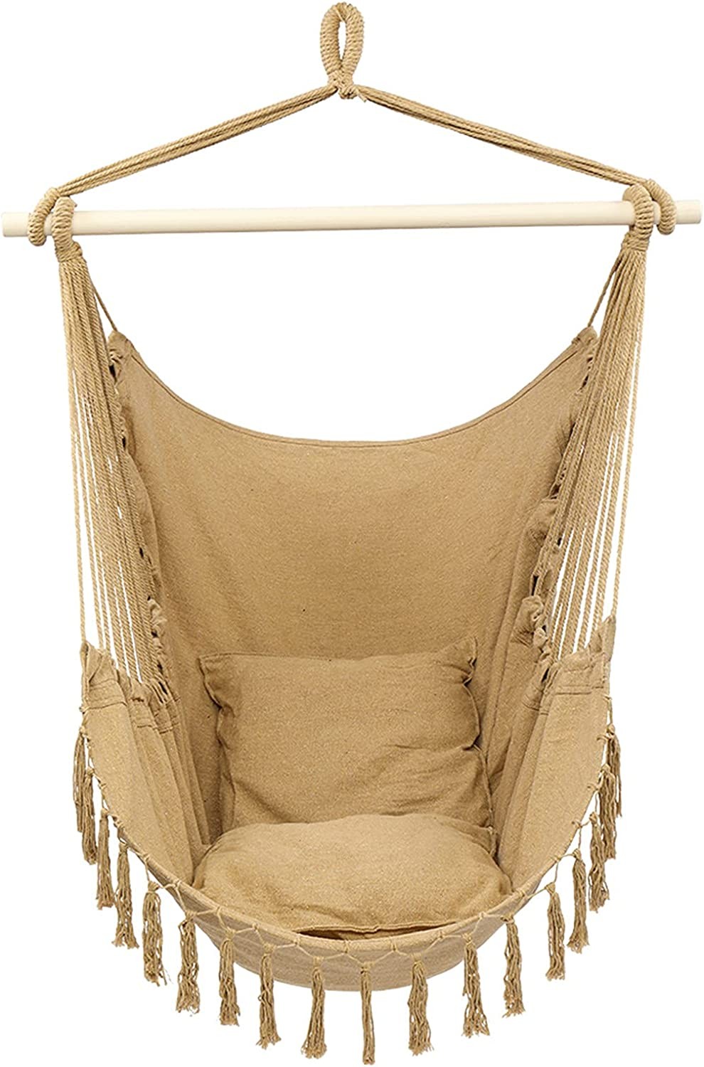 Price reduction Trlec gt4-ly 1.5x1.2m Tassel Plus Max 70% OFF Co Pillow Coffee Chair Hanging