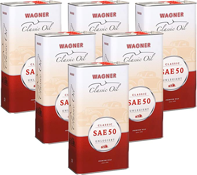 Wagner Classic Engine Oil Sae 50 Unalloyed 450005 5 Litres Auto