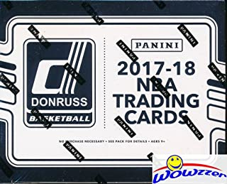 2017/18 Panini Donruss Basketball MASSIVE Factory Sealed JUMBO FAT PACK Box with 360 Cards! Look for Rookies & Autographs of Lonzo Ball, Jayson Tatum, Kyle Kuzma, Dennis Smith & Many More! WOWZZER!