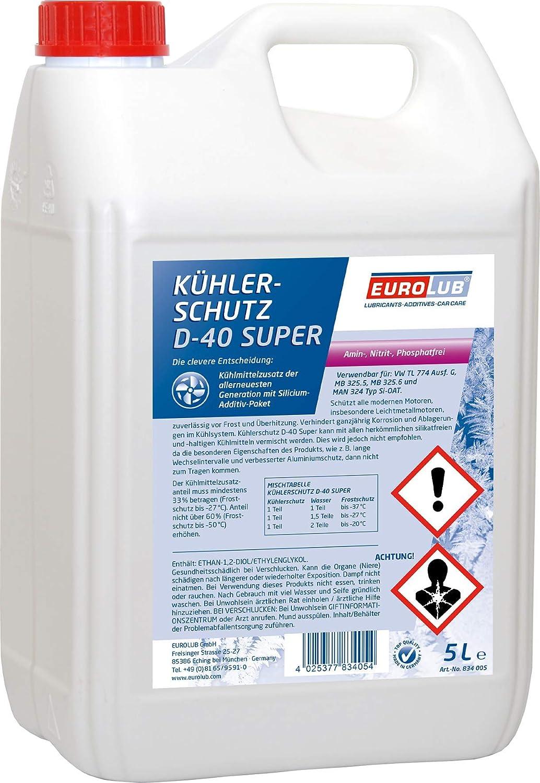 Eurolub Kühlerschutz D 40 Super 5 Liter Auto