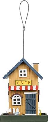 Alpine Corporation ACM106 Hanging Café Bird Feeder, 9 Inch Tall, Multicolor