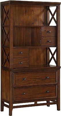 Homelegance Bookcase, Cherry
