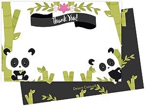 Panda Screen Card Boxed Set set of 5 cards note card set screen card set