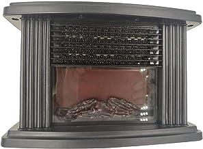 Domilay Calentador EléCtrico De Llama Calentador De Aire PTC CeráMica Calentador Estufa Radiador Hogar PráCtico Ventilador Enchufe De la UE