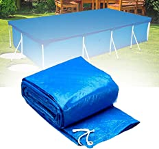 Hmpet Cubre Piscinas,Cobertor Piscina Invierno Rectangular,Lona Impermeable para Muebles de Jardín Piscina Lona Protectora,400 * 211cm