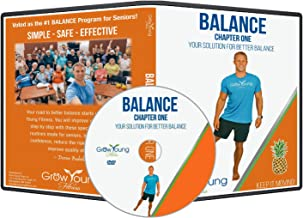 Grow Young Fitness Chair Exercises for Seniors - Better Balance DVD - Simple Safe Effective Balance Workout DVD for Elderly + Two Bonus Stretch Routines