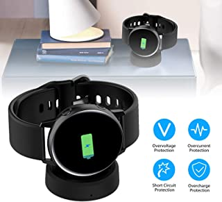EEEKit Charger Dock for Samsung Galaxy Active Watch, Update Qi Wireless Charging Dock Cradle Stand Charger Adapter for Samsung Galaxy Smart Watch with a Charging Cable(Black)