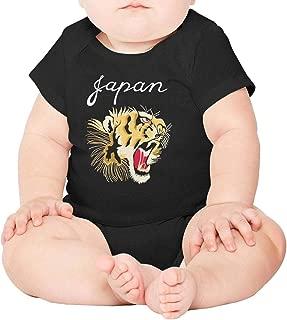 Comfort Baby Bodysuit Japan Beautiful Tiger Roar Funny Gift for Cute Baby Boy Girl Bodysuit
