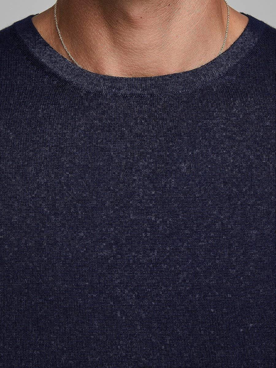 JACK /& JONES Jjemark Merino Knit Crew Neck Noos Pullover Uomo