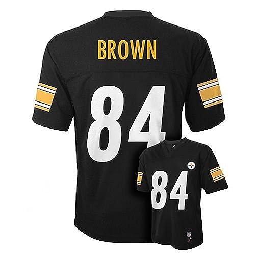 e48c2efc9 Antonio Brown Pittsburgh Steelers Black NFL Toddler 2016-17 Season Mid-tier  Jersey (