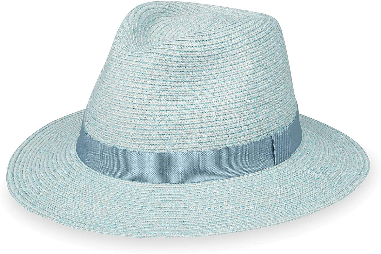 Wallaroo Hat Company Women's Caroline Fedora – Max 73% Free Shipping Cheap Bargain Gift OFF 50+ UPF