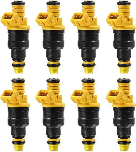 new arrival 8 Fuel sale Injectors Replaces Part Numbers 280150943 0280150939 0280150909 0280150943 0280150556 Automotive online Replacement sale