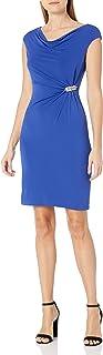 فستان ضيق بكشكشة جانبية للنساء من Jessica Howard