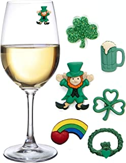 irish claddagh wine glasses