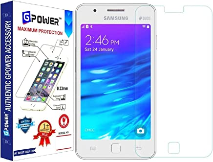 G-POWER ®2.5D 0.3mm Flexible Tempered Glass Screen Protector for Samsung Z1 with Installation Kit