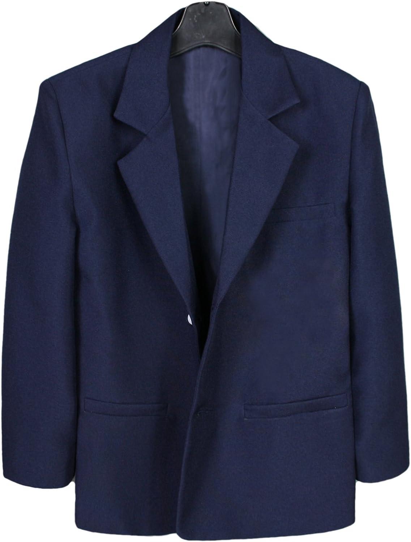 Leadertux Little Baby Toddler Kids Boys Navy Notch Lapel Suits Jacket Size S-7